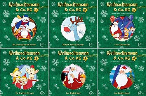 Weihnachtsmann & Co. KG - Das Hörspiel zur TV-Serie - CD 1-6 im Set - Deutsche Originalware [6 CDs]