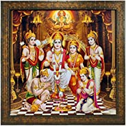 Indianara RAM DARBAR Paintings (1593) Without Glass 13.8 X 13.8 inch