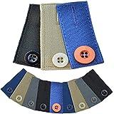 Medipaq® Skirt Trouser or Jeans Button WAIST EXTENDERS x3 Pack