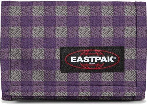 Eastpak portafoglio Crew colore Checksange Purple