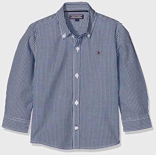 Tommy Hilfiger Ame Mini Gingham Shirt L/S, Chemise Garçon Tommy Hilfiger