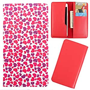 DooDa - For Karnonn Titanium S3 PU Leather Designer Fashionable Fancy Case Cover Pouch With Card & Cash Slots & Smooth Inner Velvet