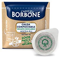 Caffè Borbone Cialda Compostabile, Miscela Blu - 100 Cialde - Sistema ESE
