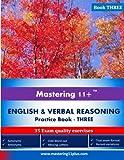 Mastering 11+ English & Verbal Reasoning - Practice Book 3
