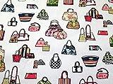 Handtaschen Print Baumwolle Canvas Stoff Multicolor auf