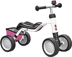 Puky 3024 Wutsch® Limited Edition- Weiß/Pink mit Klingel+Tasche