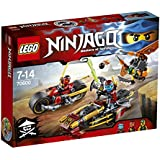 LEGO - 70600 - Ninjago - La poursuite en moto des Ninja
