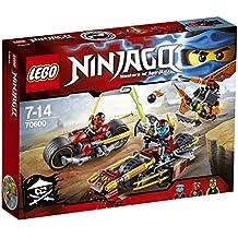 LEGO Ninjago - 70600 - Jeu de Construction - La Poursuite en Moto des Ninja