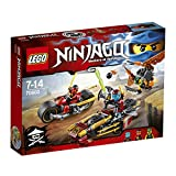 Lego Ninja Bike Chase, Multi Color