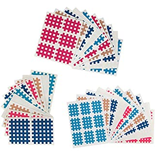 ALPIDEX Cross-Tape Pain Relief Patches in different sizes and quantities, Quantity:170 pieces - size A.B and C