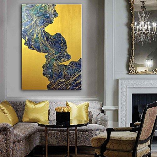 ckten Rahmen Öl Gemälde handgemalt Kunst Wand Dekoration Home Decor Wohnzimmer Büros Schlafzimmer Abstract dekorative Malerei Öl auf Leinwand, 50 x 70 cm, #RP 1022 (Home Decor Gemälde)