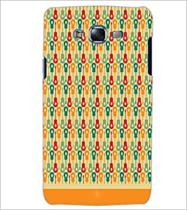 PrintDhaba Pattern D-1624 Back Case Cover for SAMSUNG GALAXY J7 (Multi-Coloured)