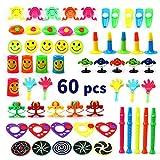 Amy&Benton 60 Stück Kindergeburtstag Mitbringsel & Mitgebsel - Kleine Geschenke für Kinder - Kinderparty Give Aways & Spielzeug mit Pinata