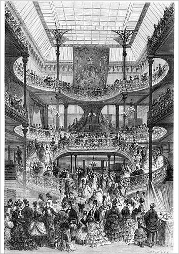 fine-art-print-of-the-new-staircase-in-au-bon-marche-from-le-monde-illustre