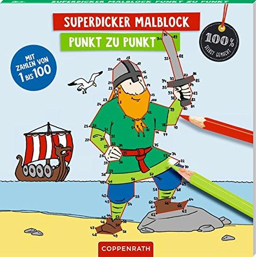 Superdicker Malblock: Punkt zu Punkt (100% selbst gemacht)