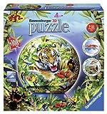 Ravensburger 12224 - Im Dschungel - 108 Teile puzzleball®