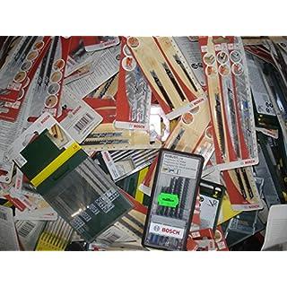 Bosch Stichsägeblätter 60 Stück U-Schaft Stichsägeblatt f. Holz Metall