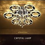 Ameride US-6101-6C-WJ Dekoration Kristall LED Deckenlampe 6 Flammig 68W Warmweiß