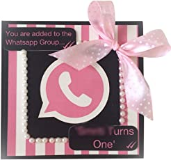 Whatsapp Party Invitations - 25 pack