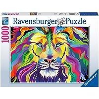 Ravensburger - Puzzle Rey de los colores, 1000 piezas (19721)