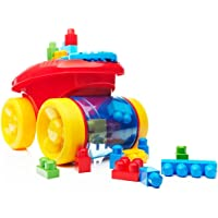 Mega Builders Block Scooping Wagon, Multi Color
