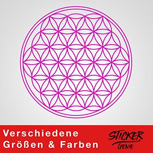 Sticker Genie Flor Vida-En--Pegatinas