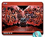 Architecture Iron Man Comics Spiderman Captain America Wolverine Daredevil Gambit Marvel Comics la maison du M Nuit Mouse Pad Computer Mousepad