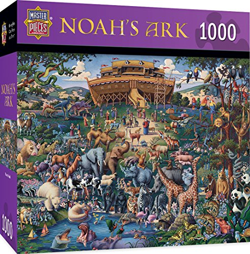 MasterPieces Noahs Arche Inspirierende Puzzle, Kunst von Eric Dowdle, 1000-Stück