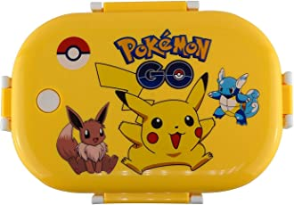 TickRight Steel Insulated Lunch Box on Cartoon Character with Small Tiffin and Spoon Inside