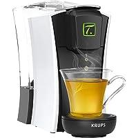 Krups Spécial T Machine à Thé Mini T Théière Electrique à Capsules Blanche YY4122FD Mini.T