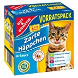 Katzenfutter Nassfutter Zarte Häppchen in Sauce 8x 100g