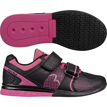 59ab29d5d9f707 More Mile Super Lift 3 Ladies CrossFit   Weightlifting Shoes - Pink   Amazon.co.uk  Sports   Outdoors