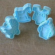 Increíble serie Cake Sugarcraft Cookies que adorna los moldes del cortador del émbolo (vestido púrpura
