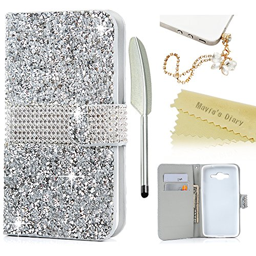 maviss-diary-cover-for-grand-prime-samsung-galaxy-grand-prime-case-wallet-3d-shiny-diamonds-bling-ge