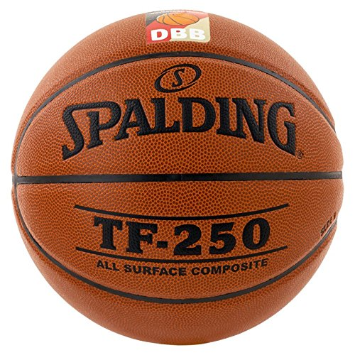 Spalding Ball TF250 DBB In/out 74-594z Basketball, orange, 7