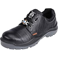 ACME Ketone Leather Safety Shoes Black (Size - ACME008_38)