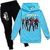 zhaojiexiaodian Chicos Unisex 3D Pullover Niño Jogging Sudaderas Sudaderas Chándal Ropa Deportiva Jumper Hip Hop Streetwear T