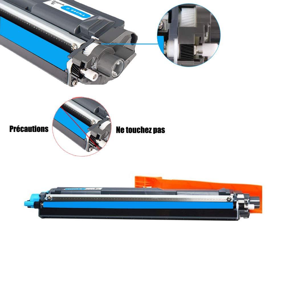 ONINO TN241 TN245 Toner Compatibile con TN241 TN245 HL-3140CW DCP-9020CDW HL-3150CDW DCP-9015CDW HL-3170CDW MFC-9330CDW MFC-9130CW MFC-9340CDW 2 Nero, 1 Ciano, 1 Magenta, 1 Giallo