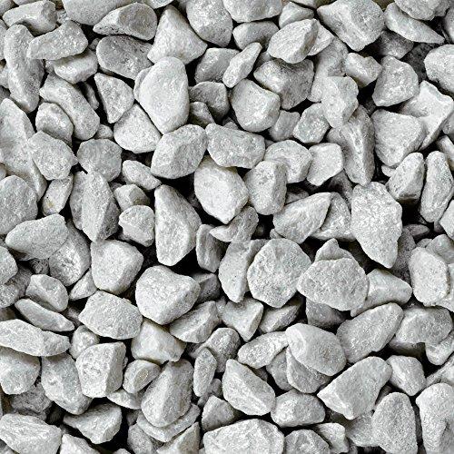 Dekosteine burgund 1 Kg Größe ca. 9mm - 13mm - Deko Steine für Haus und Garten günstig zu kaufen - Streudeko / Tischdekoration (grau)
