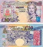 Gibraltar - 2004 £20 Sammlerbanknoten (Unzirkuliert)
