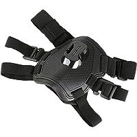 DUTTY Action Camera Cane Harness Mount Regolabile per GoPro Hero 7 6 5 4 Xiaoyi Sport Cam Torace Strap Holder