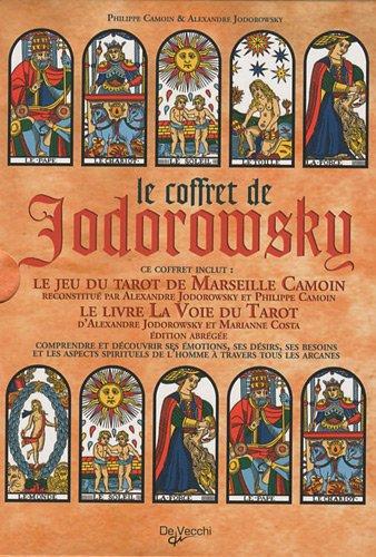Le coffret de Jodorowsky : Le jeu du tarot de Marseille et Le livre de La Voie du Tarot
