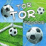 20 Serviette Fussball Tor WM EM Sieg 11 Freunde 33x33 cm