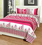 #8: Astra Double Bedsheets Cotton With Pillow Cover