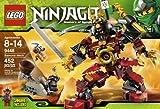 LEGO Ninjago Samurai Mech 452stück (S) Baukasten–-Spiele Bau (mehrfarbig, 8Jahr (S), 452Stück (S), 14Jahr (S))