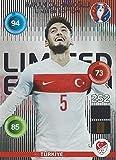 Hakan Calhanoglu Türkei Classic Limited Edition Panini Adrenalyn XL EURO 2016 Sammelkarte Tradingcard Karte Card Checkliste