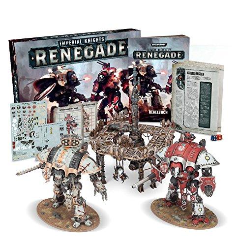 Games Workshop Warhammer 40 K - Imperial Knights Renegade EN