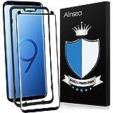 Alinsea Utilisé pour Verre Trempé Galaxy S9 [1 Pièce],Galaxy S9 Film Protection [Résistant aux Rayures] Dureté 9H pour Samsun