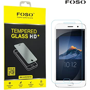 FOSO™ FOSO_TG25_ZUK Z1 2.5D Curved Edge 9H Hardness Toughened Tempered Glass Screen Guard Protector For Lenovo Zuk Z1