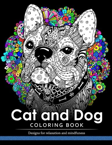 Cat and Dog Coloring Book: The best friend animal for puppy and kitten adult lover por Cat and Dog Coloring Book